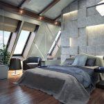 шторы на мансардные окна оформление фото