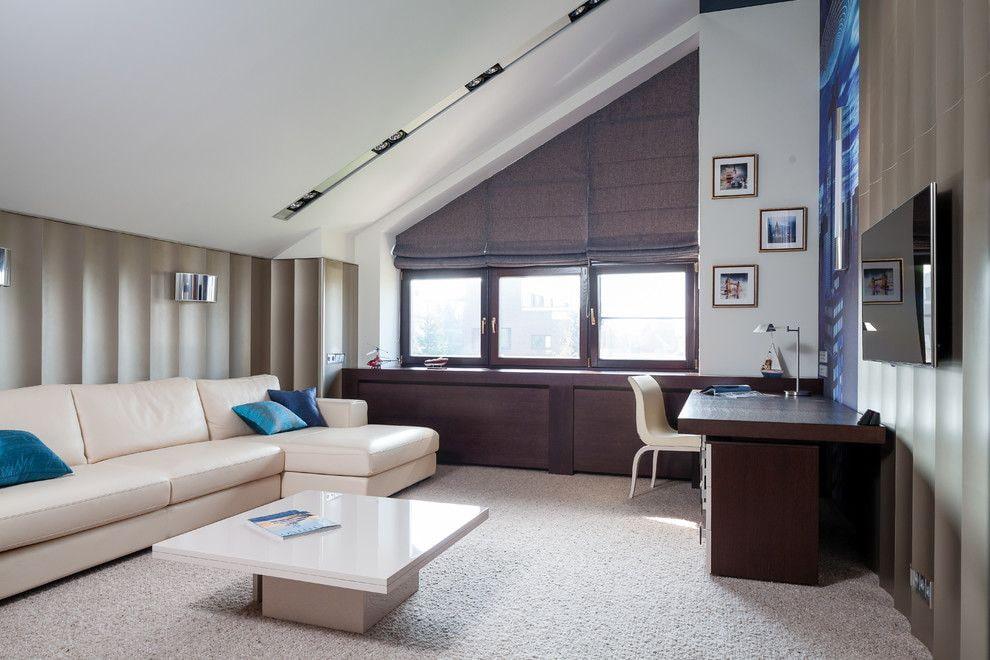 шторы на мансардные окна дизайн