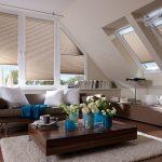 шторы на мансардные окна фото оформления