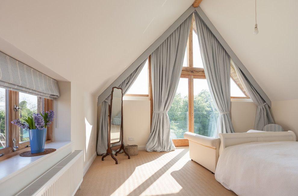 шторы на мансардные окна фото