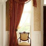 шторы на одну сторону окна идеи фото