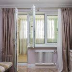 шторы на окно с балконом фото дизайн