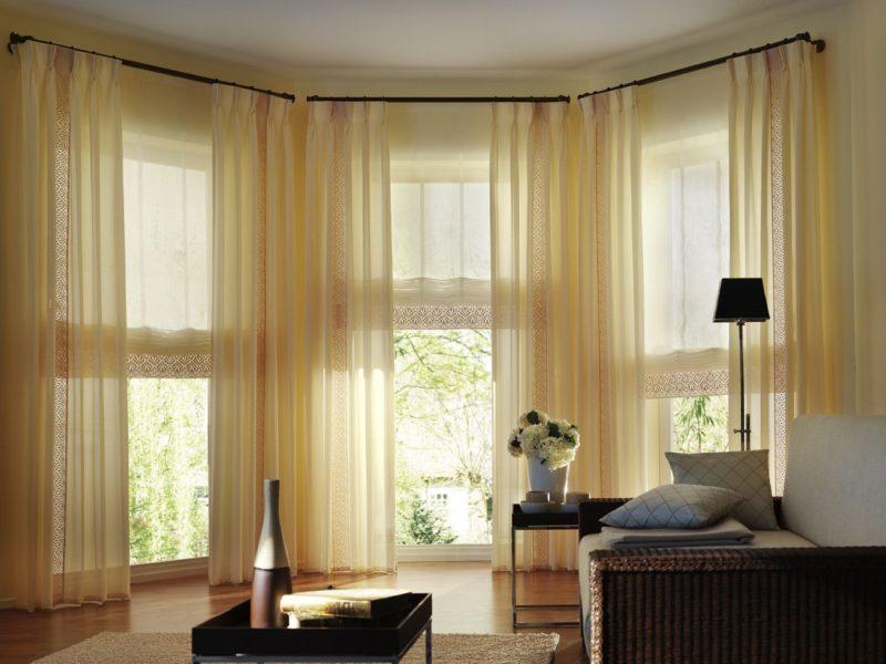 шторы на окно с балконом идеи фото
