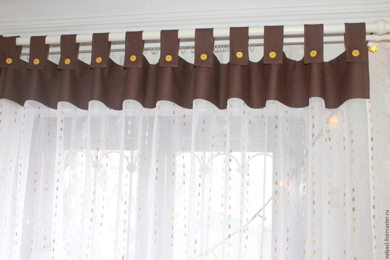 шторы на петлях фото идеи