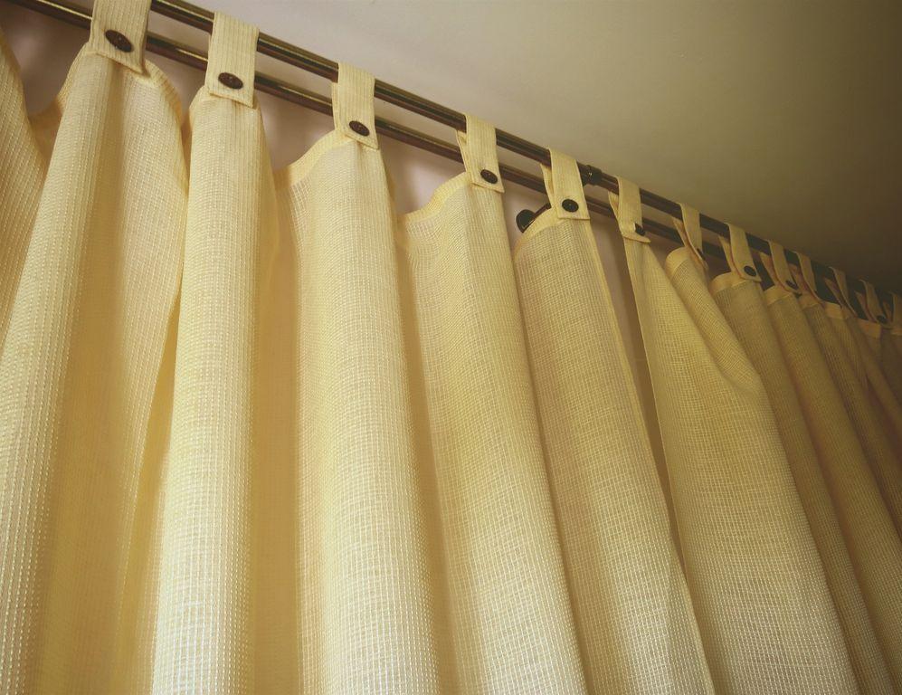 шторы на петлях фото оформления