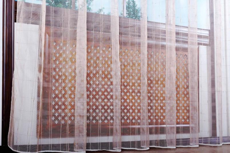 шторы из сетки дизайн идеи