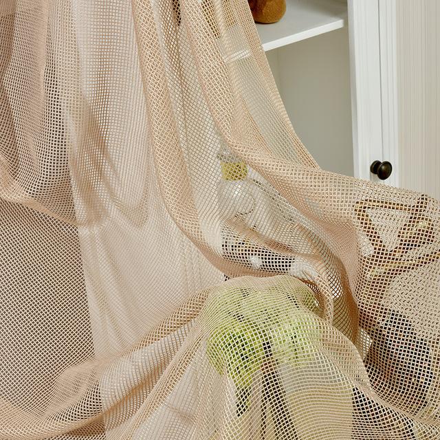 шторы из сетки фото дизайна