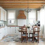 шторы в деревянном доме фото выбор