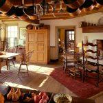 шторы в деревянном доме идеи обзор