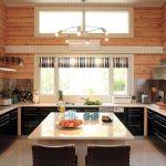 шторы в деревянном доме идеи текстиль