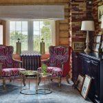 шторы в деревянном доме идеи выбор