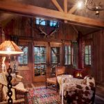 шторы в деревянном доме варианты фото