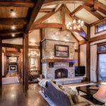 шторы в деревянном доме варианты идеи