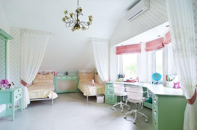 шторы в комнату девочки подростка декор фото