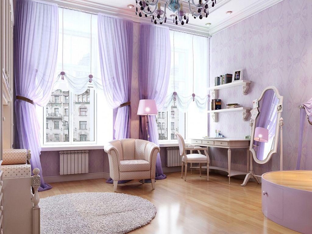 шторы в комнату девочки подростка идеи дизайна