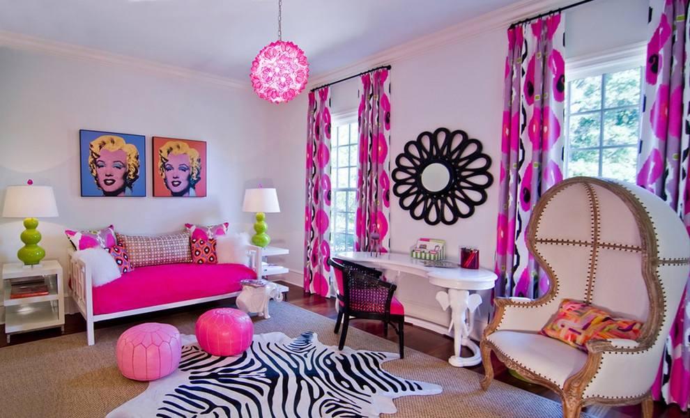 шторы в комнату девочки подростка идеи оформление