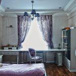 шторы в комнату девочки подростка дизайн фото
