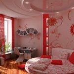 шторы в комнату девочки подростка фото интерьера