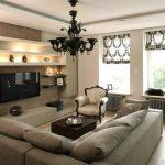 римские шторы в гостиную