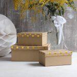 стильное декорирование коробок