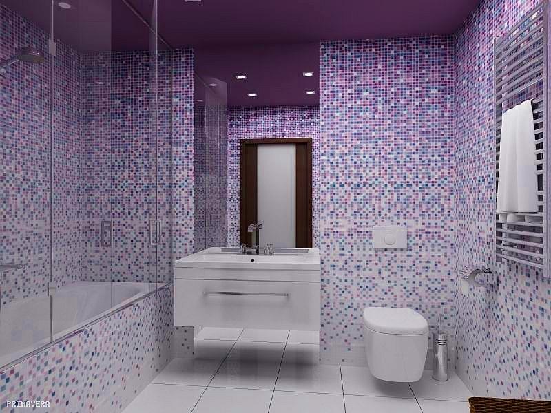 омбре в ванной