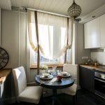тюль на кухню фото дизайна