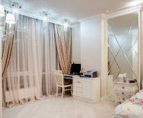 тюль в спальне дизайн декор