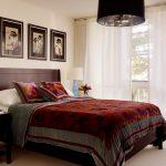 тюль в спальне фото оформление