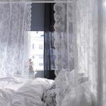 тюль в спальню идеи декора