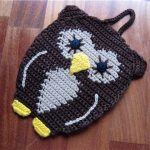 вязаный коврик сова своими руками фото дизайн