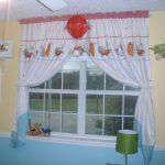 занавески для детского сада фото декор