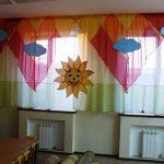 занавески для детского сада идеи варианты