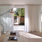 шторы на шторной ленте минимализм