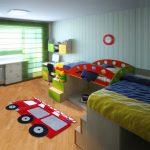 ковер в детскую комнату декор фото