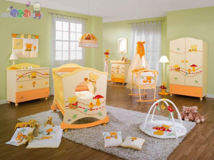 ковер в детскую комнату идеи