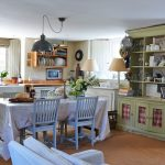 скатерть на стол для кухни декор идеи