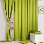 шторы блэкаут зеленые
