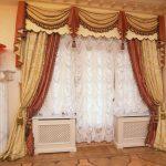 французские шторы современные