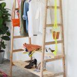напольная вешалка для одежды дизайн идеи