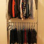 напольная вешалка для одежды идеи