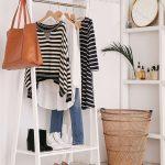 напольная вешалка для одежды фото вариантов