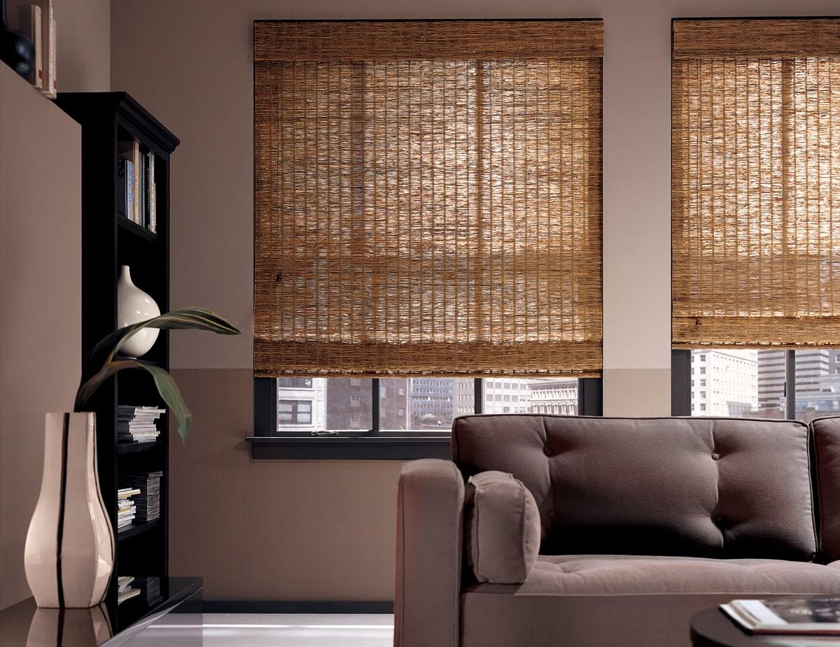 бамбуковые шторы декор идеи