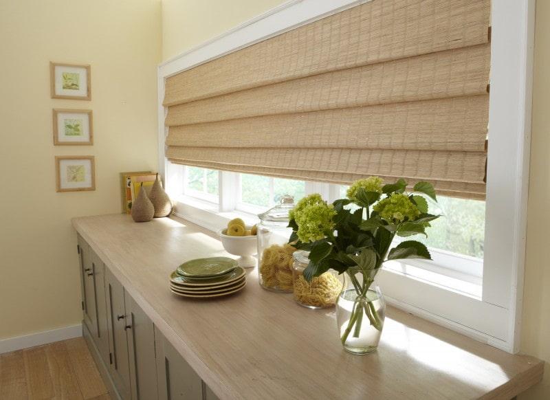 бамбуковые шторы декор