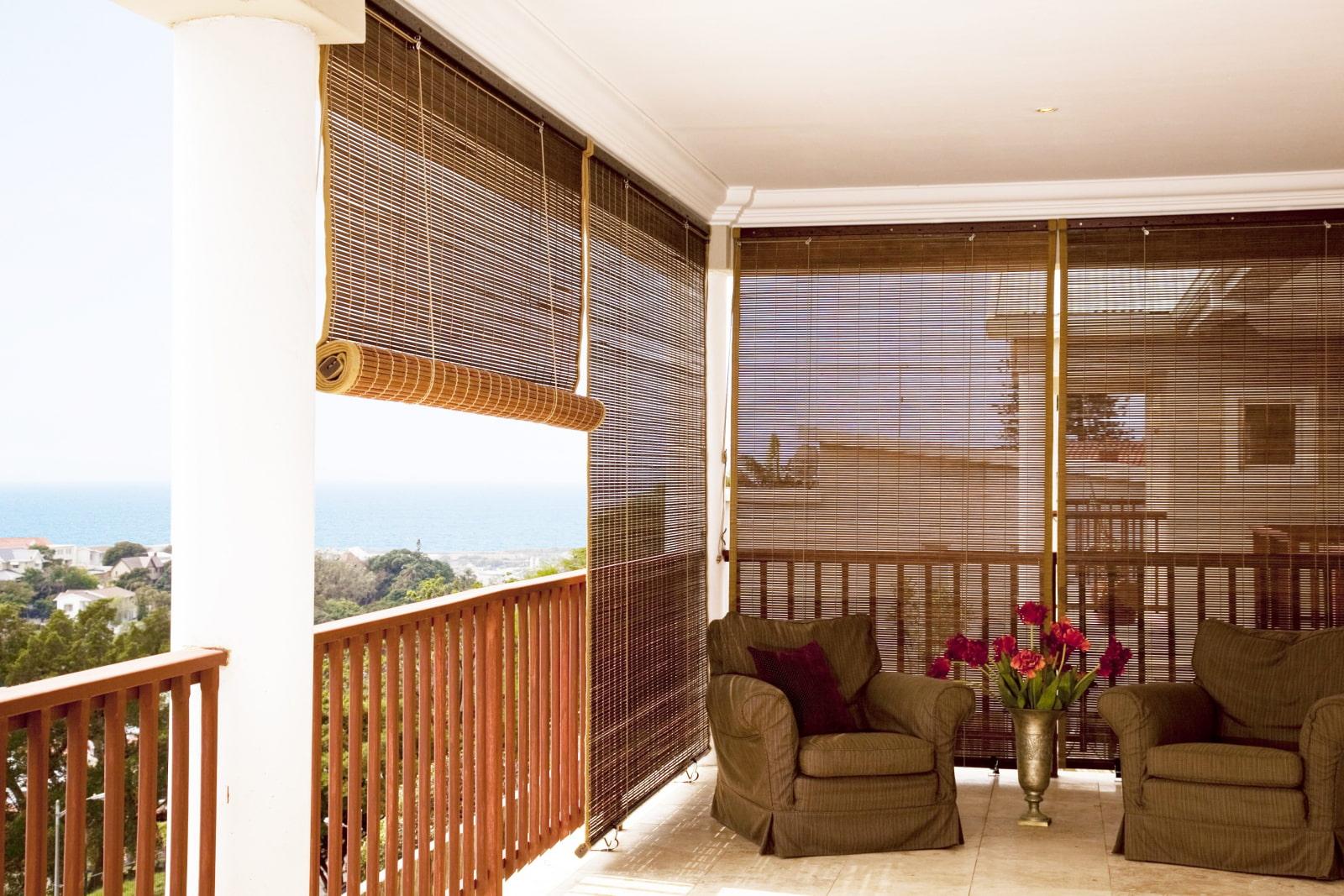 бамбуковые шторы дизайн фото