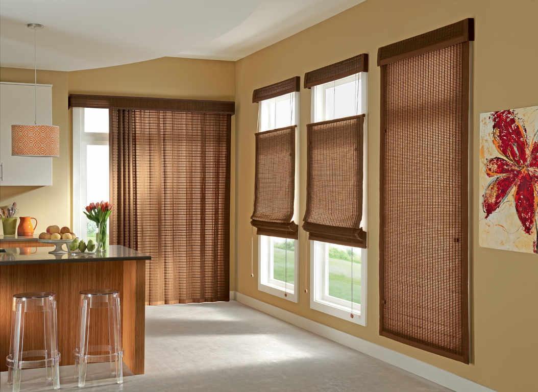бамбуковые шторы фото декор