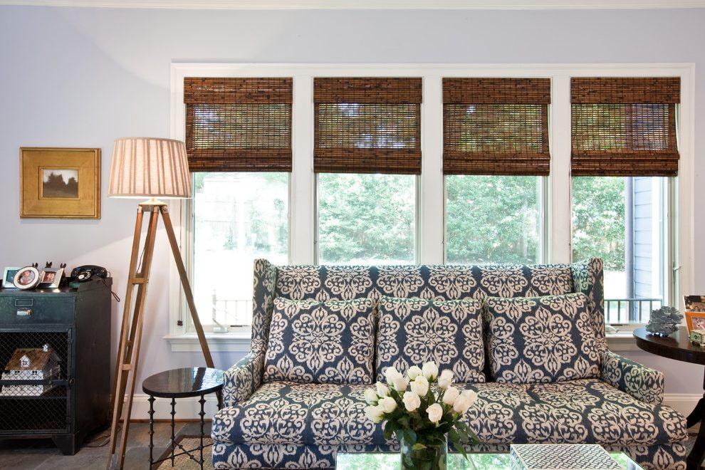 бамбуковые шторы фото идеи