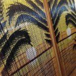 бамбуковые шторы фото интерьер