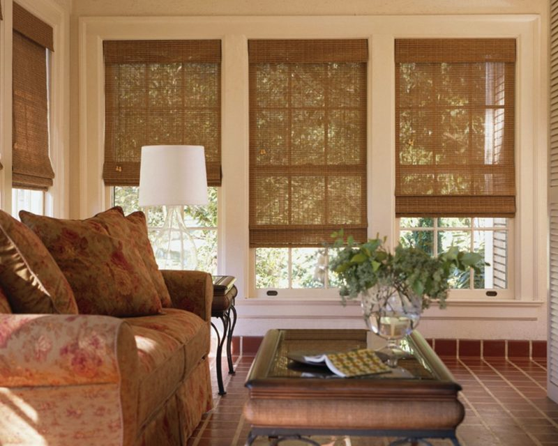 бамбуковые шторы фото обзор