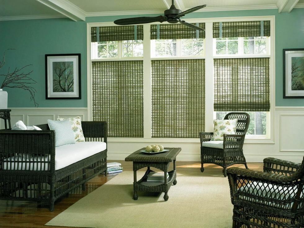 бамбуковые шторы идеи