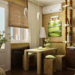 бамбуковые шторы интерьер идеи